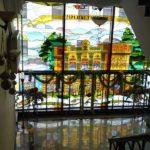 Garni Hotel glass