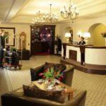 Hermitage Hotel reception