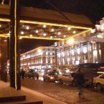 Minsk Hotel night